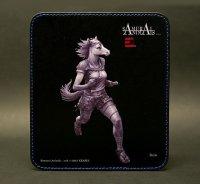 SAMURAI ANIMALS-  Leather Mouse Pad Batou  the Horse Samurai *Stopped Production