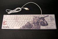 SAMURAI ANIMALS-  Keyboard -White Tiger *Stopped Production.