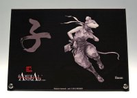 SAMURAI ANIMALS-  Acrylic Panel Series -Hanzo *Stopped Production