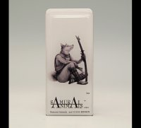 SAMURAI ANIMALS-  FRISK  Mint Tablet Case Cover Isis  the Dog Samurai *Stopped Production