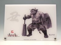 SAMURAI ANIMALS-  Acrylic Panel Series -Black Wall  *Stopped Production