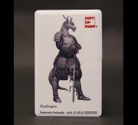 SAMURAI ANIMALS-  Card Type USB Flash Drive (4GB)  Blue Dragon  the Dragon Samurai *Stopped Production.