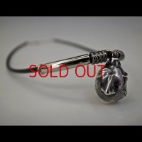 No. 412 Beherit Silver Pendat- Egg of the King (Dark Color Representation)*Sold Out
