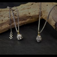 No. 454 Beherit Silver Chain Pendant (Egg of the King/Eclipse)*New Release!!