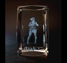 Photo1: Premium Laser Crystal Figure Collection: Lynn (1)