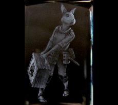 Photo3: Premium Laser Crystal Figure Collection: Nina (3)