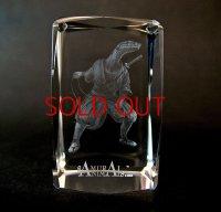 Premium Laser Crystal Figure Collection: Snake