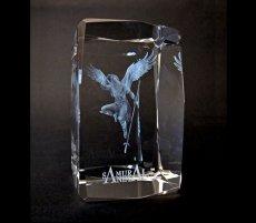Photo3: Premium Laser Crystal Figure Collection: Arrow (3)