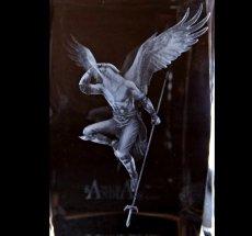 Photo2: Premium Laser Crystal Figure Collection: Arrow (2)