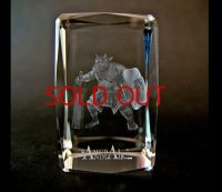 Premium Laser Crystal Figure Collection: Black Wall