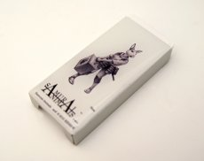 Photo2: SAMURAI ANIMALS-  FRISK  Mint Tablet Case Cover Nina  the Rabbit Samurai  *Stopped Production (2)