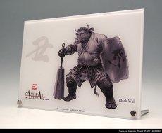 Photo3: SAMURAI ANIMALS-  Acrylic Panel Series -Black Wall  *Stopped Production (3)