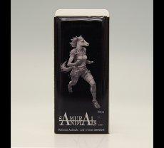 Photo1: SAMURAI ANIMALS-  FRISK  Mint Tablet Case Cover Batou  the Horse Samurai *Stopped Production (1)