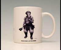 SAMURAI ANIMALS-  Mug -Brahman the Ape Samurai *Stopped Production.