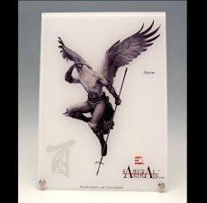 Photo1: SAMURAI ANIMALS-  Acrylic Panel Series Arrow *Stopped Production (1)