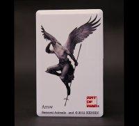SAMURAI ANIMALS-  Card Type USB Flash Drive (4GB) Arrow  the Bird Samurai *Stopped Production