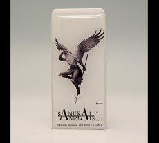 Photo1: SAMURAI ANIMALS-  FRISK  Mint Tablet Case Cover Arrow  the Bird Samurai *Stopped Production (1)