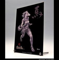 Photo3: SAMURAI ANIMALS-  Acrylic Panel Series -Batou *Stopped Production (3)