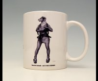 SAMURAI ANIMALS-  Mug - Lynn the Sheep Samurai *Stopped Production.