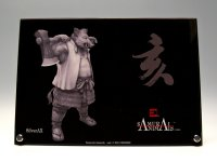 SAMURAI ANIMALS-  Acrylic Panel Series Silver Ax  *Stopped Production