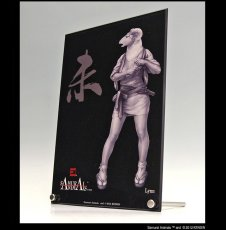 Photo3: SAMURAI ANIMALS-  Acrylic Panel Series  -Lynn *Stopped Production (3)