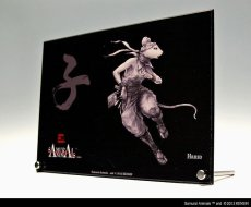 Photo3: SAMURAI ANIMALS-  Acrylic Panel Series -Hanzo *Stopped Production (3)