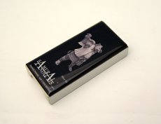 Photo2: SAMURAI ANIMALS-  FRISK  Mint Tablet Case Cover Silver Ax  the Wild Boar Samurai *Stopped Production (2)