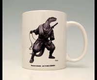 SAMURAI ANIMALS-  Mug - Snake the Snake Samurai *Stopped Production.