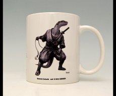 Photo1: SAMURAI ANIMALS-  Mug - Snake the Snake Samurai *Stopped Production. (1)