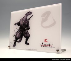 Photo3: SAMURAI ANIMALS-  Acrylic Panel Series -Snake *Stopped Production (3)