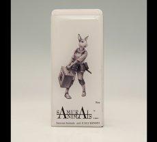 Photo1: SAMURAI ANIMALS-  FRISK  Mint Tablet Case Cover Nina  the Rabbit Samurai  *Stopped Production (1)