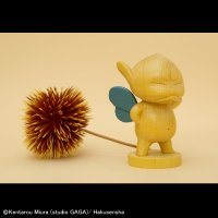 No.284 Kuri Puck (ANGRY)- Hinoki/ Blue Wing Version *30% off*Sold Out!!