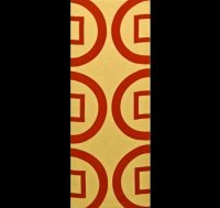 "Samurai Hand Towel - ""Rokumunsen""- Symbol of Sanada Yukimura *New Release"