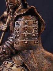 Photo4: Classic Historical Statue - Yukimura Sanada *Bronze Color Version (4)