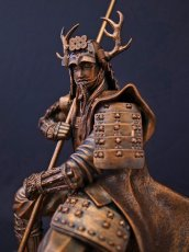 Photo2: Classic Historical Statue - Yukimura Sanada *Bronze Color Version (2)