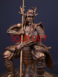 Classic Historical Statue - Yukimura Sanada *Bronze Color Version