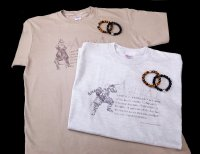 SAMURAI ANIMALS - Silver Bracelet & T-Shirt - Set Version