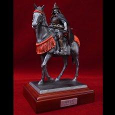 Photo5: Classic Historical Statue- Oda Nobunaga Riding on Horse (5)