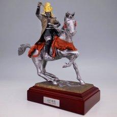 Photo2: Classic Historical Statue - Uesugi Kensin in Kawanakajima Battle*Gold Leaf Version (2)