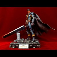 No.322 Guts the Black Swordsman - Birth Ceremony Chapter- 1/10 scale *Bloody Repaint Version II*Sold Out