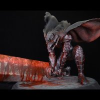 No.408 Guts 1/6 Scale -Berserk: Slash- *Black Version*Sold Out!!!