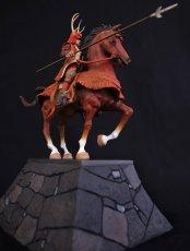 Photo3: Historical Equestrian Statue- Sanada Yukimura's Last Stand at Osaka Castle (3)