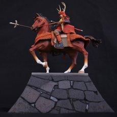 Photo1: Historical Equestrian Statue- Sanada Yukimura's Last Stand at Osaka Castle (1)