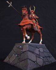 Photo2: Historical Equestrian Statue- Sanada Yukimura's Last Stand at Osaka Castle (2)