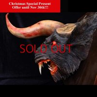No. 429 Trophy* Bloody Version (with attach of bloody bone)*Christmas Special Present Offer*Sold Out!!!