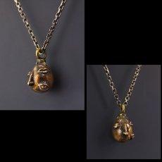 Photo3: No. 450 Beherit Beryllium Copper Chain Pendant (Egg of the King/Eclipse) (3)