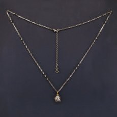 Photo2: No. 454 Beherit Silver Chain Pendant (Egg of the King/Eclipse) (2)