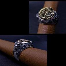 Photo3: No.310 Zodd *Silver Ring (attachment of Zirconia*stone-filled) (3)