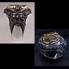 Photo2: No.310 Zodd *Silver Ring (attachment of Zirconia*stone-filled) (2)