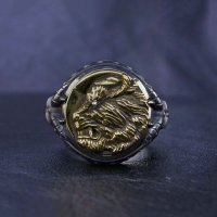 No.310 Zodd *Silver Ring (attachment of Zirconia*stone-filled)